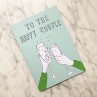 Kay Barker 'To the Happy Couple' Card